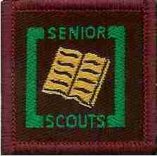 The Senior Scout Bookman Badge